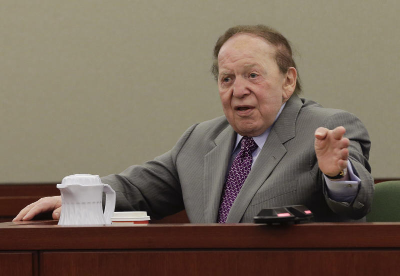 Former Sands exec turns on Adelson in testimony