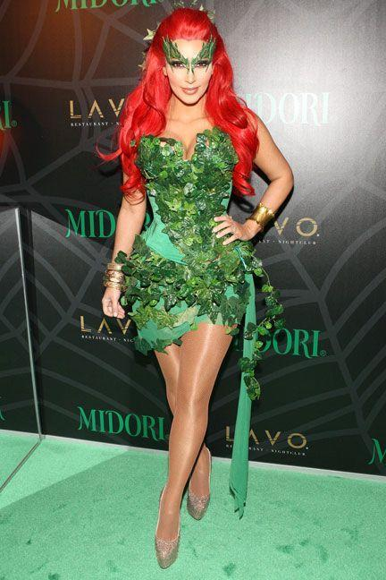 <p>As Poison Ivy.</p>
