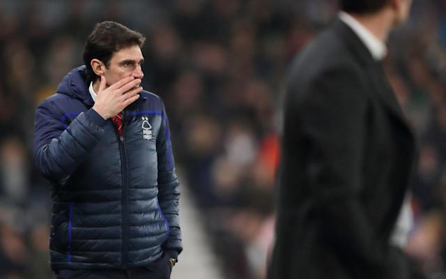 Aitor Karanka's time at the City Ground is over - Getty Images Europe