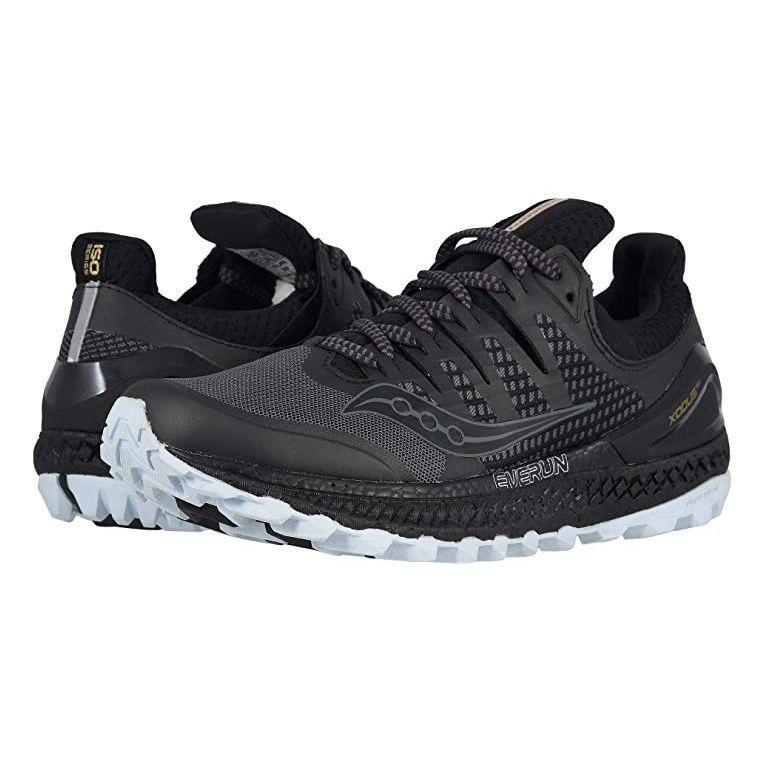 """<p><strong>Saucony</strong></p><p>zappos.com</p><p><strong>$149.95</strong></p><p><a href=""""https://go.redirectingat.com?id=74968X1596630&url=https%3A%2F%2Fwww.zappos.com%2Fp%2Fsaucony-xodus-iso-grey-black%2Fproduct%2F9060114&sref=https%3A%2F%2Fwww.goodhousekeeping.com%2Fhealth-products%2Fg32379201%2Fbest-workout-shoes-for-women%2F"""" rel=""""nofollow noopener"""" target=""""_blank"""" data-ylk=""""slk:Shop Now"""" class=""""link rapid-noclick-resp"""">Shop Now</a></p><p>Take your workout outside for fresh air and a whole new exercise experience with the Saucony Xodus ISO3 workout shoes. This pair has an <strong>outsole with deep grooves for great traction and durability across any tough terrain, including trails.</strong> The external frame of the shoe keeps your ankle supported in the heel cup with tongue and collar padding for added comfort. There's a perforated and cushioned footbed to support your arches while still being breathable.</p>"""