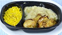 """<p>Consulting nutritionist Carole M. Farina warns that most frozen meals should be scratched from your grocery list. Although they're convenient on rushed work nights, the balance of nutrients is off. """"They have too much carbohydrate and not enough protein,"""" a combination which, she says, will only leave you hungry soon after eating. <br><br>Although there are some better options for frozen meals, especially at health food stores, Farina says you're better off taking out some time on the weekends to cook up a large batch of grilled chicken, vegetables and whole grains and then freezing individual servings to heat up later in the week.</p>"""