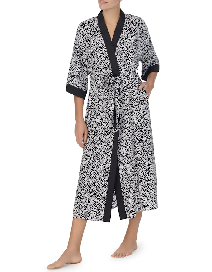"Look to Room Service for cute styles that look way more expensive than they actually are. We're partial to this satin robe, featuring discreet side pockets and cropped kimono sleeves. $68, Nordstrom. <a href=""https://www.nordstrom.com/s/room-service-satin-robe-nordstrom-exclusive/5727164"" rel=""nofollow noopener"" target=""_blank"" data-ylk=""slk:Get it now!"" class=""link rapid-noclick-resp"">Get it now!</a>"