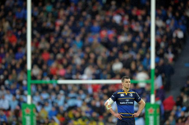 Rugby Union - European Champions Cup Final - Leinster Rugby v Racing 92 - San Mames, Bilbao, Spain - May 12, 2018 Leinster Rugby's Johnny Sexton looks on REUTERS/Vincent West