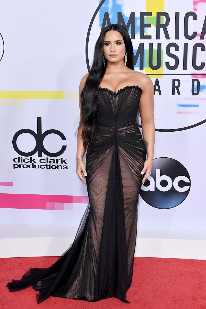 Demi Lovato at the AMAs