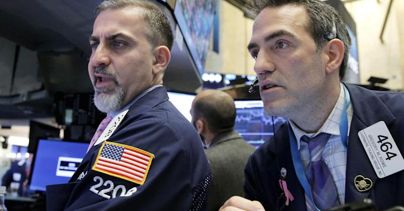 Dow falls more than 150 points, Nasdaq off 1% as optimism on Trump agenda diminishes