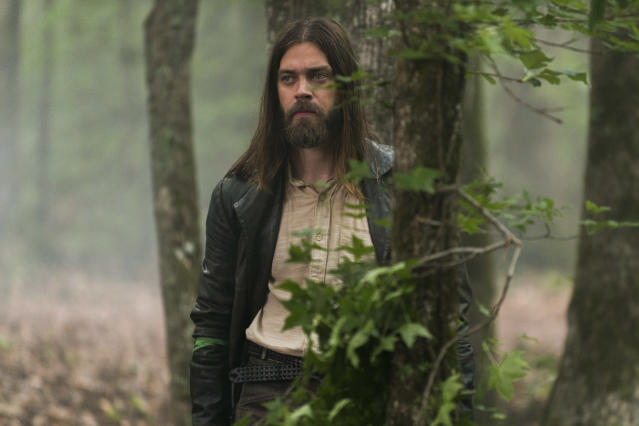 "<p>Tom Payne as Paul ""Jesus"" Rovia in AMC's <i>The Walking Dead</i>.<br>(Photo: Gene Page/AMC) </p>"