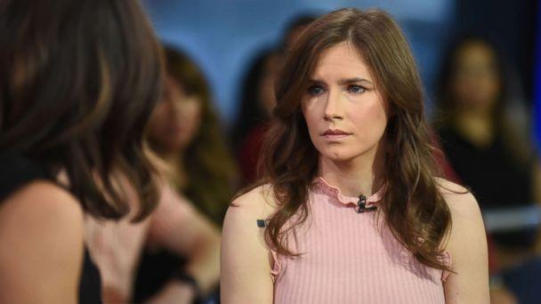 PHOTO: Amanda Knox, the study abroad student who was accused in Italy of the 2007 murder of her roommate, Meredith Kercher, is standing up for other women as host of her own docuseries, 'The Scarlet Letter Reports.' (Paula Lobo/ABC)