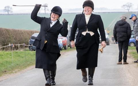 <span>One quirk of the ancient rules means that the second place rider often receives more in prize money than the winner</span> <span>Credit: Charlotte Graham/The Telegraph </span>