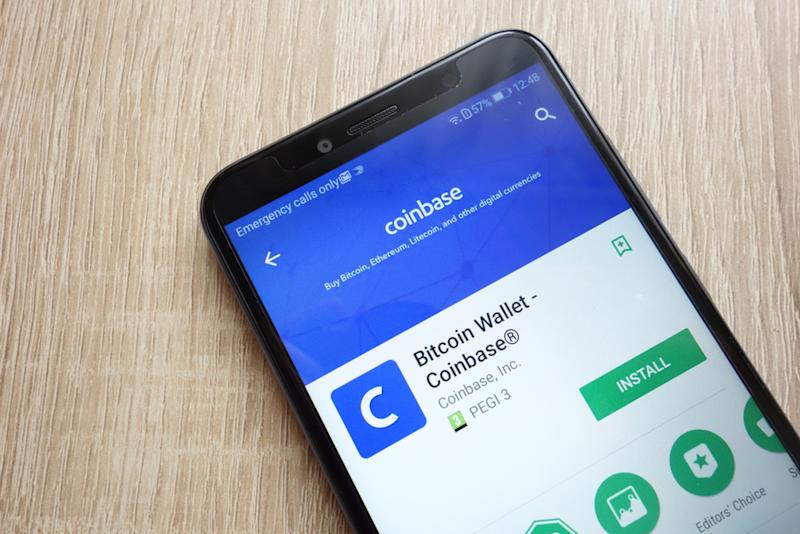 Coinbase app cryptocurrency exchange
