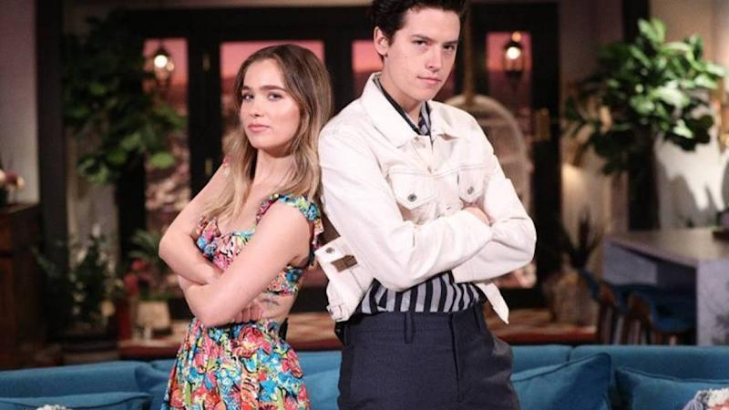 Cole Sprouse and Haley Lu Richardson Went on a 'Wild Strip ...
