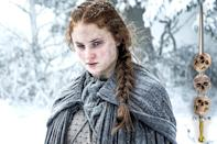 <p>Sansa has made it this far despite having few discernible survival skills, so it would be a shame to see the eldest Stark daughter meet her end now. Unfortunately, her track record with picking the wrong ally continues, as she's facing the wrath of Ramsay Bolton with only Theon by her side. That puts her odds of staying alive at an even 50-50.</p><p><i>(Credit: Helen Sloa/HBO)</i></p>