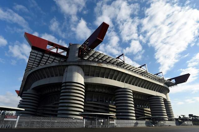 The San Siro is of of 'no cultural interest' a heritage panel ruled, clearing a potential obstacle to its demolition (AFP Photo/MIGUEL MEDINA)