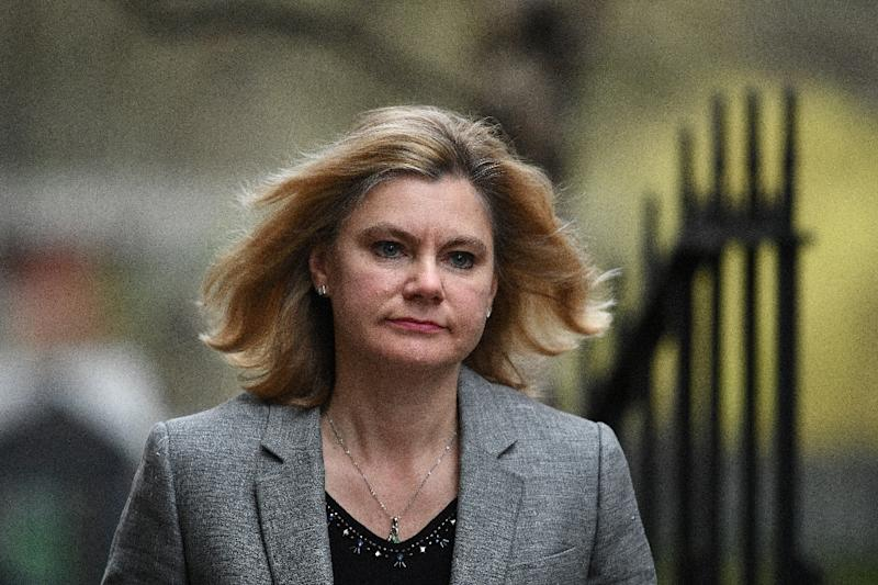 Education Secretary Justine Greening, pictured in March 2017, will leave the cabinet after resisting a request to move to the welfare and pensions ministry (AFP Photo/Justin TALLIS)