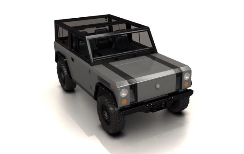Bollinger S Glorious Boxy Electric Suv Is The Real Deal And Here It Getting Some Track Time