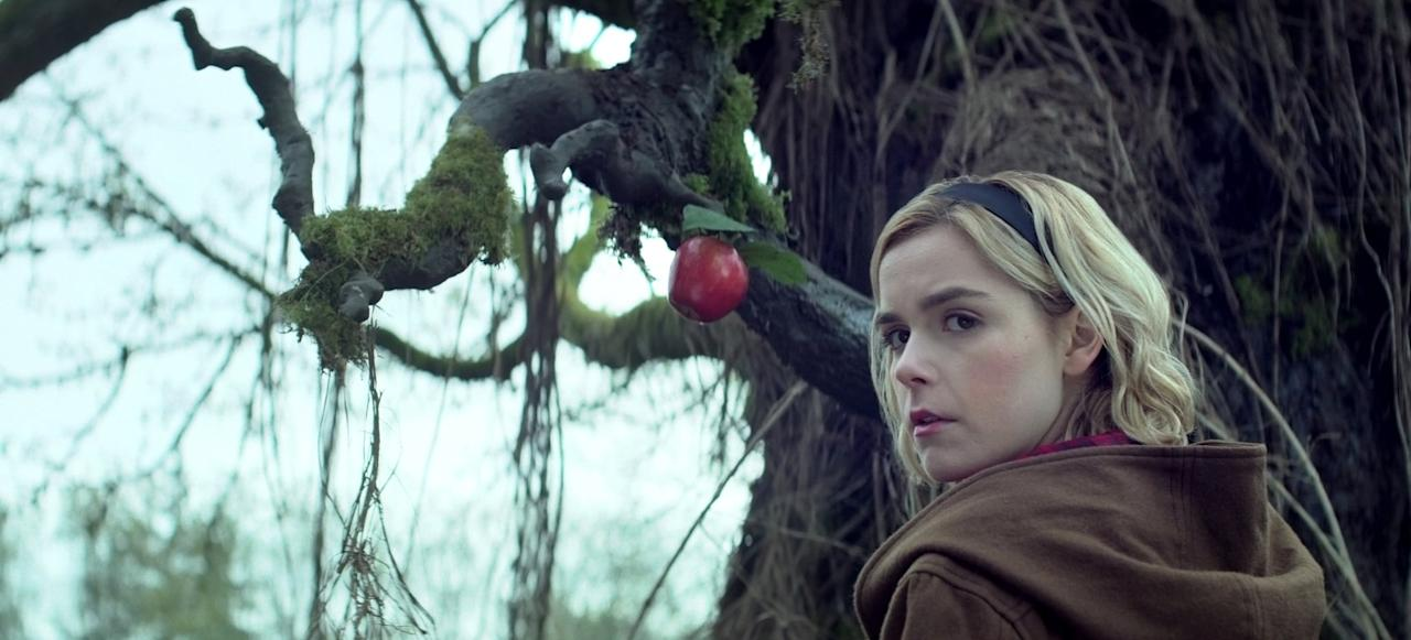 """<p>With two seasons streaming, <strong>The Chilling Adventures of Sabrina</strong> makes for a serious weekend marathon. There are 20 episodes so far, but if you have the time to plow through them you'll be rewarded with a steady stream of witchy rituals, curses, and quality teen drama - and Kiernan Shipka's winning performance as a dark Sabrina the Teenage Witch is the icing on this devilishly good cake.</p> <p><a href=""""https://www.netflix.com/watch/80223989?source=35"""" target=""""_blank"""" class=""""ga-track"""" data-ga-category=""""Related"""" data-ga-label=""""https://www.netflix.com/watch/80223989?source=35"""" data-ga-action=""""In-Line Links"""">Watch <strong>The Chilling Adventures of Sabrina</strong> on Netflix.</a></p>"""