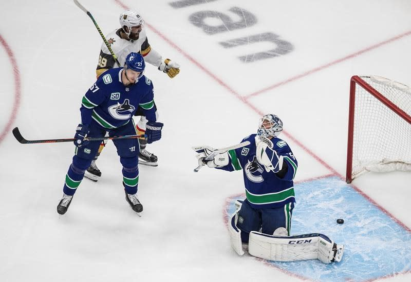 Canucks, down 3-1 to Vegas, prep for first win-or-go-home game of NHL playoffs