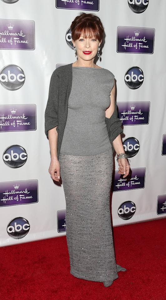 """LOS ANGELES, CA - JANUARY 22: Actress Frances Fisher attends the Premiere Of Disney ABC Television & The Hallmark Hall Of Fame's """"The Makeover"""" at Fox Studios on January 22, 2013 in Los Angeles, California.  (Photo by Frederick M. Brown/Getty Images)"""