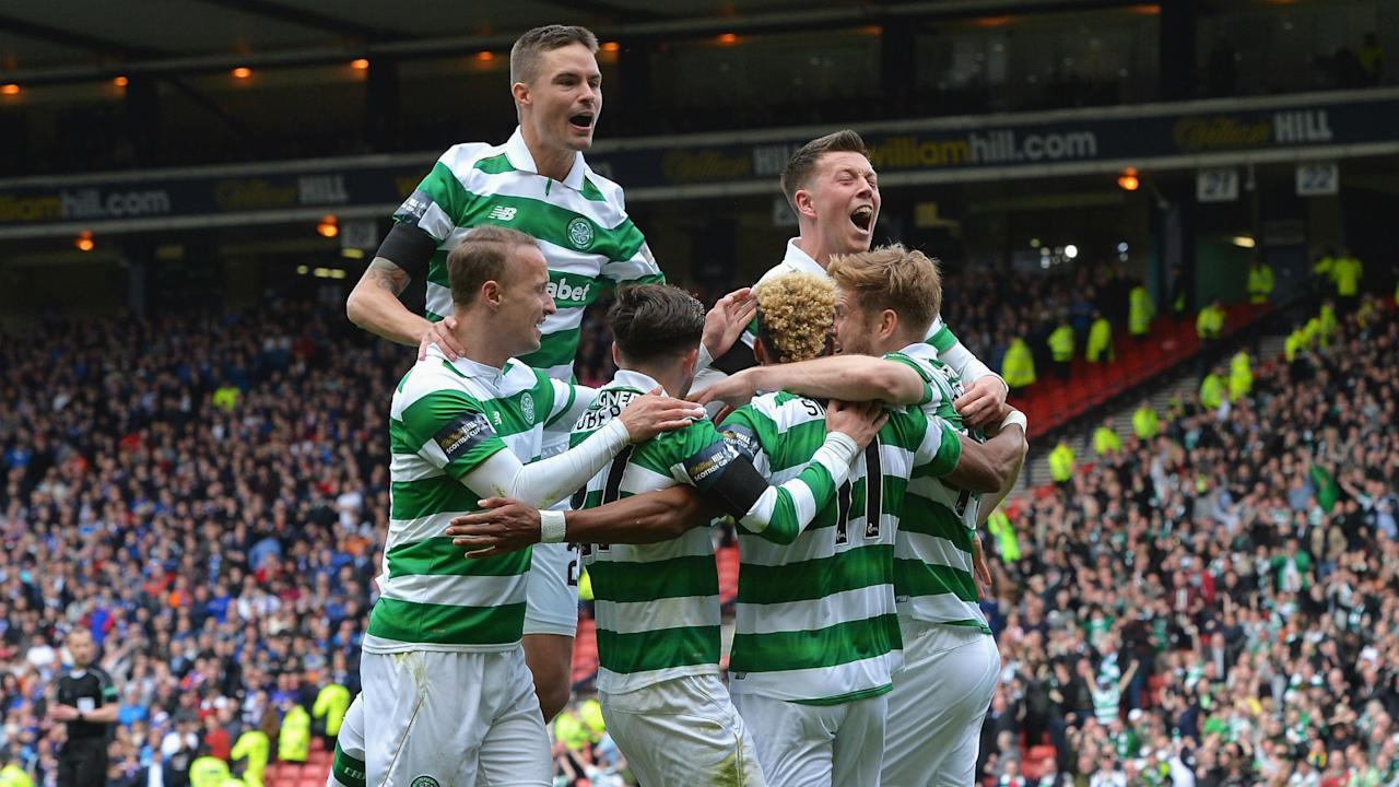 Celtic proved too good for Old Firm rivals Rangers as a 2-0 victory at Hampden Park set up a Scottish Cup final meeting with Aberdeen.