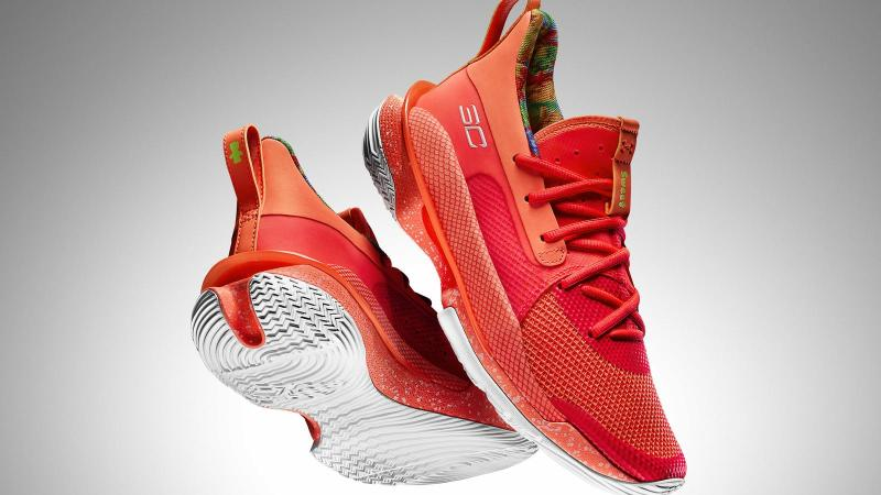 Stephen Curry Under Armour Sour Patch Kids sneakers — Under Armour