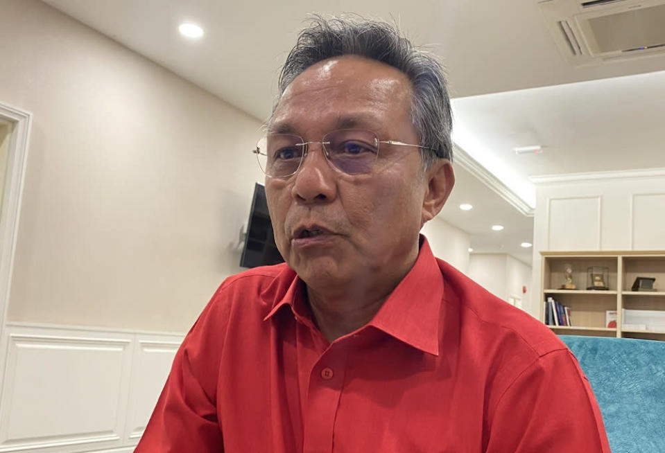 Johor Mentri Besar Datuk Hasni Mohammad said establishment of Jetco Singapore is to promote Johor as a global investment, trade, tourism and cultural destination. — Picture by Ben Tan