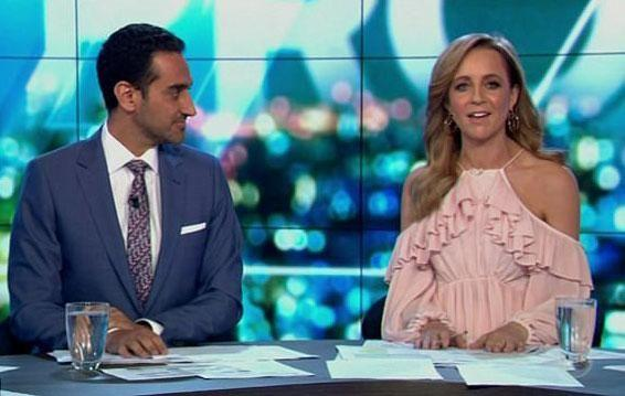 Waleed's co-host Carrie Bickmore said it's their