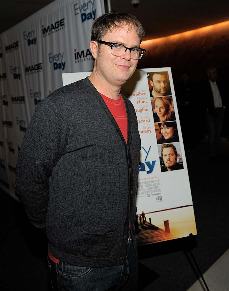 "January 20: Rainn Wilson turns 45 Charley Gallay/<a href=""http://www.wireimage.com"" target=""new"">WireImage.com</a> - January 11, 2011"
