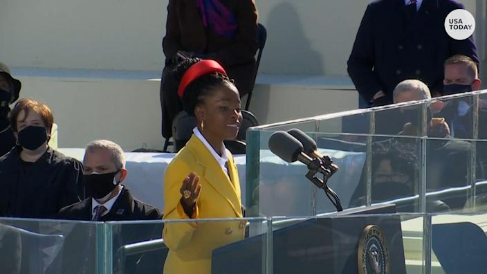Amanda Gorman, the youngest inaugural poet, delivered a powerful message to Americans.