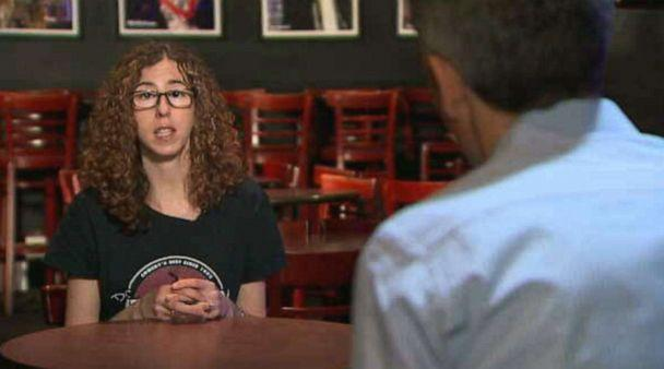 PHOTO: Small business owner Allyson Jaffe of DC Improv in Washington, DC, had to lay off her entire staff of 50 employees this month because of the novel coronavirus pandemic. (ABC NEWS)