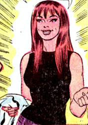 The comic version of Mary Jane
