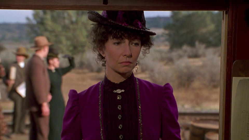 Mary Steenburgen as Clara in 'Back to the Future Part III'. (Credit: Universal)