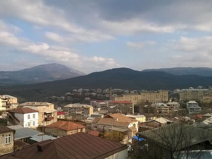 A view of the region's capital, Stepanakert