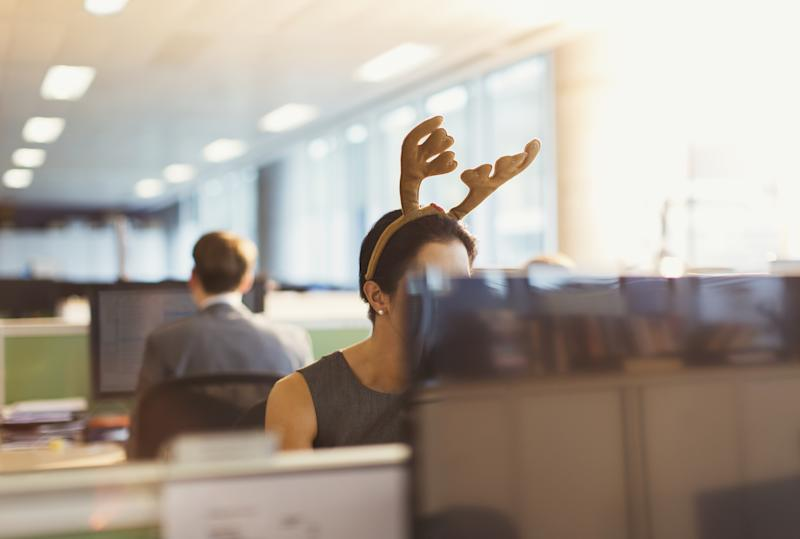 You can continue your job hunt during the holiday period – but there's a right way to do it. (Source: Getty)