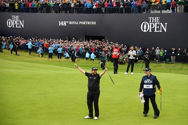 "<h1 class=""title"">148th Open Championship - Day Four</h1> <div class=""caption""> PORTRUSH, NORTHERN IRELAND - JULY 21: <<span> <cite class=""credit"">Ross Kinnaird/R&A</cite></span></div>"