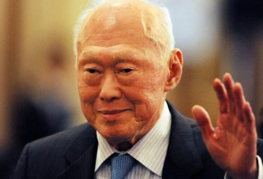 Former Minister Mentor Lee Kuan Yew says that foreign talents are vital in ensuring better growth within Singapore's society. (AFP photo)