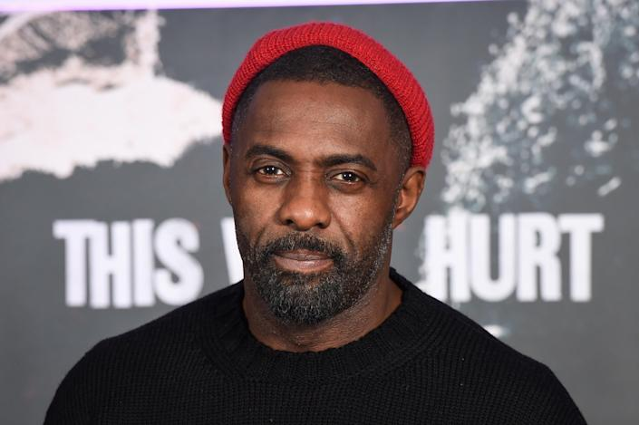 Idris Elba has said racist TV should not be banned, but rated offensive. (PA)