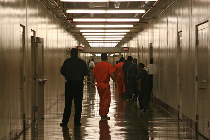 """Because the United States <a href=""""http://www.detentionwatchnetwork.org/ExposeAndClose"""">imprisons roughly 400,000 immigrants</a> each year on civil violations."""