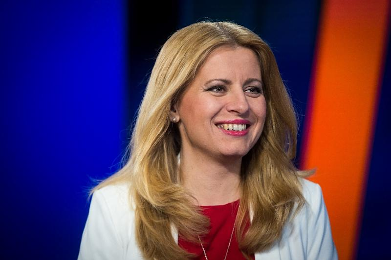 Kiska backed Zuzana Caputova in her successful run to succeed him as president (AFP Photo/VLADIMIR SIMICEK)