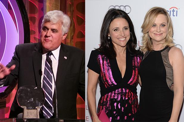 Jay Leno at TV Academy Induction: 'Thrilled to Watch Jimmy Fallon,' 'We Talk Once or Twice a Week'