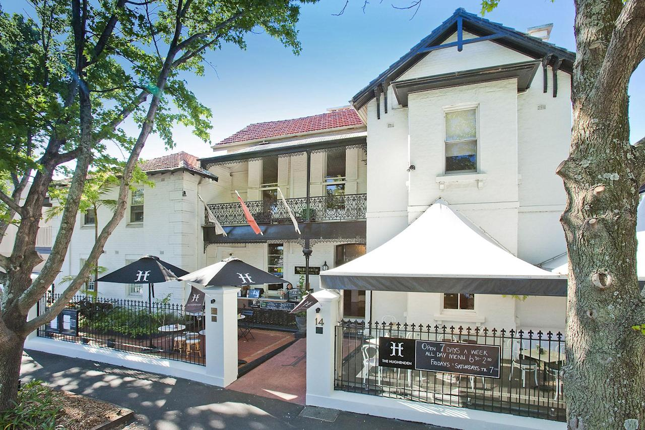 <p>The Hughenden building, in Sydney's glam Eastern suburbs, has been around since 1870.</p>