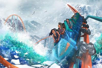 Ice Breaker at SeaWorld Orlando is set to open spring 2020, featuring the steepest vertical drop in Florida. It's just one of 30 new openings in Orlando for 2020.