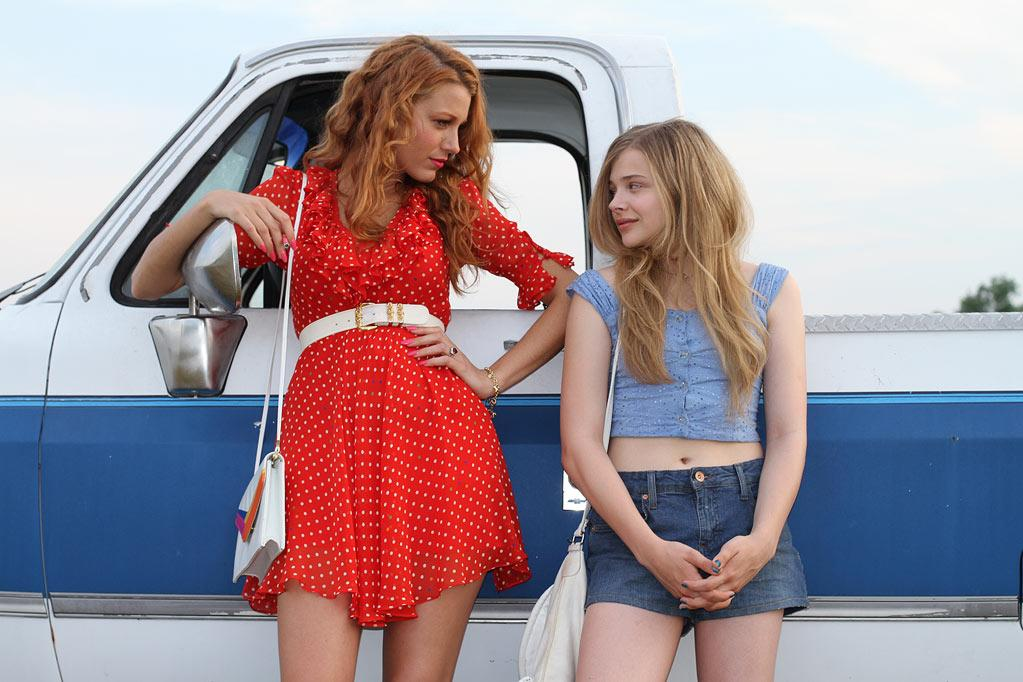 """Blake Lively and Chloe Grace Moretz in Phase 4 Films' """"Hick"""" - 2012"""