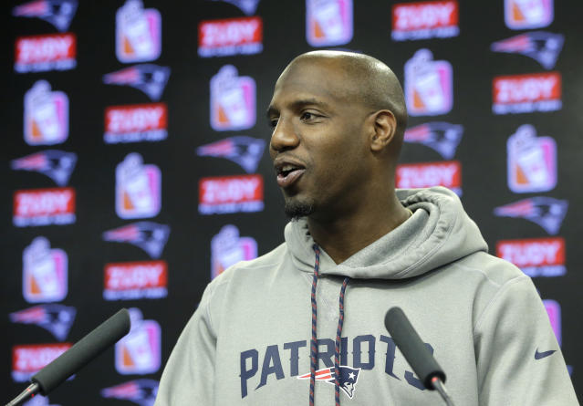Patriots safety Duron Harmon was turned away from Costa Rica and sent back to the U.S. for marijuana possession, police say. (AP)