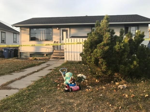 Despite the best efforts of first responders, the toddler was pronounced dead at the scene, police said. Two adults were being questioned. (Dave Gilson/CBC - image credit)