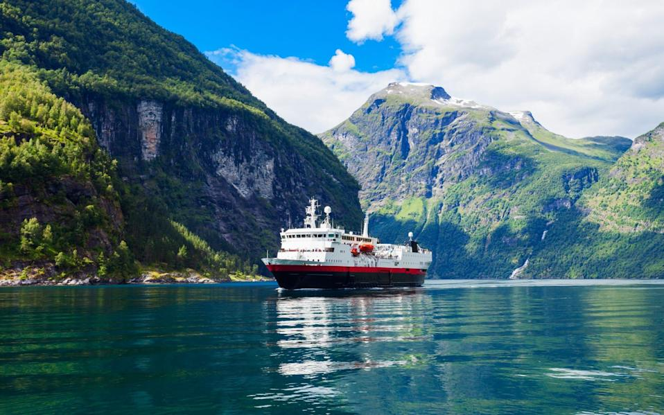 cruise norway fjord - Getty