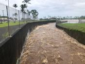 <p>A general view shows heavy flooding affecting Hilo, Hawaii, U.S. August 23, 2018 in this picture obtained from social media. (Photo: Ace Norton/via Reuters) </p>