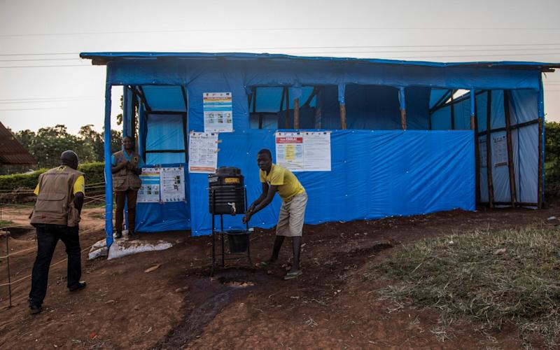 New centres are being set up in Uganda for people at risk of the disease - International Rescue Committee