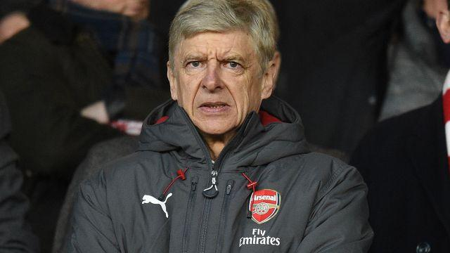 Wenger out? Image: Getty