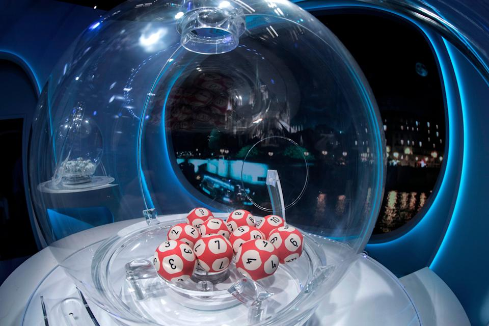 <p>South Africa's National Lotteries Commission said the sequence was unprecedented and it would investigate the draw</p> (AFP via Getty Images)
