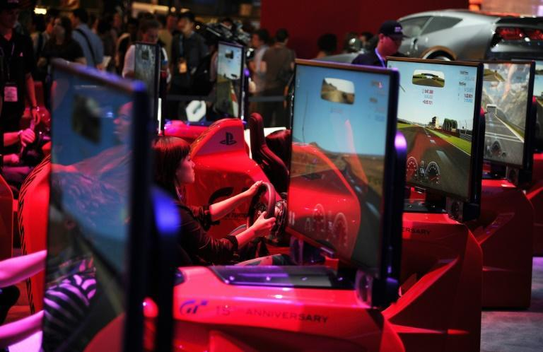 A new edition ofthe popular car racing game Gran Turismo is being developed for Sony's upcoming PlayStation 5 consoles (AFP Photo/ROBYN BECK)