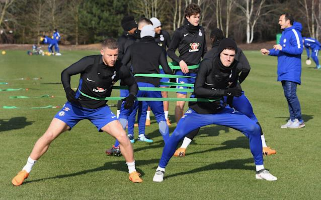 Ross Barkley is due to resume full training next week to boost Antonio Conte's Chelsea squad over the remaining weeks of the season. January signing Barkley has been out with a minor hamstring problem, which is not the same as the serious injury that kept him out for the first half of the campaign. The 24-year-old has only made three appearances, including one start, since joining from Everton for £15 million and is keen to make an impact. But Chelsea knew Barkley would need nursing back to full match fitness after such a long time out when they signed him and believe he will be a big player for them in the future. England manager Gareth Southgate pretty much confirmed Barkley will not be a part of his World Cup plans, but the midfielder is currently just focussed on trying to help Chelsea over the final weeks. Barkley's return would be a boost to Conte as he seeks to guide Chelsea to a top-four Premier League place and FA Cup success. The Blues still have to play fourth-placed Tottenham Hotspur after the international break and face Southampton in the semi-finals of the FA Cup on Sunday, April 22, before hosting Liverpool in the Premier League in May. England's World Cup 2018 squad - ranked. Who's on the plane to Russia? Those three games will be key to deciding whether or not Conte's second season in charge, ahead of his potential departure in the summer, is viewed as a success. One player who will not play any part for Conte for the rest of the season is 17-year-old Ethan Ampadu, who has suffered a fractured ankle. Ampadu was injured while playing in Chelsea's 4-2 victory over Real Madrid in the Uefa Youth League last week and has been forced to withdraw from the Wales squad for the China Cup. Having joined from League Two Exeter City, Ampadu has made seven first-team appearances, including four starts, and has greatly impressed Conte.